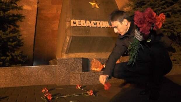 Севастополь скорбит вместе с Россией