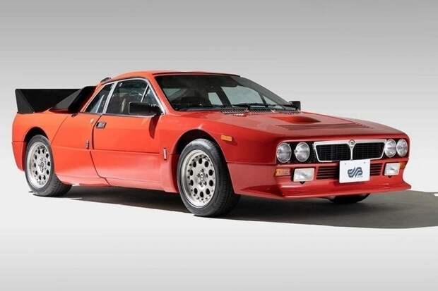 Самый первый экземпляр Lancia Rally 037 Stradale 1982 года выставят на торги в Японии