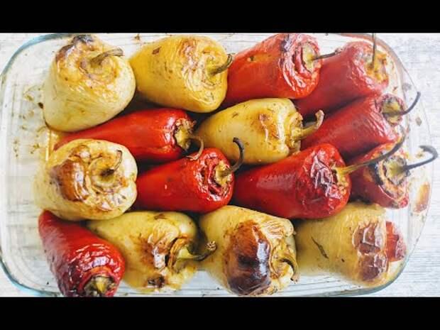 Немыслимо вкусно - Запечённые фаршированные перцы