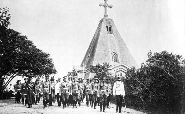 Разговор у братских могил Севастополя, с которым кровно связана героическая история нашего Отечества