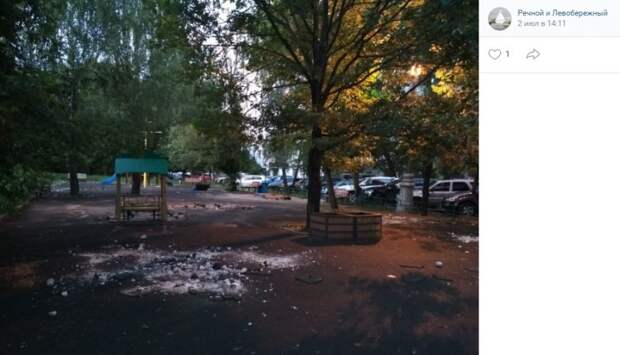 В Прибрежном из-за соседства с ЛЭП была демонтирована детская площадка