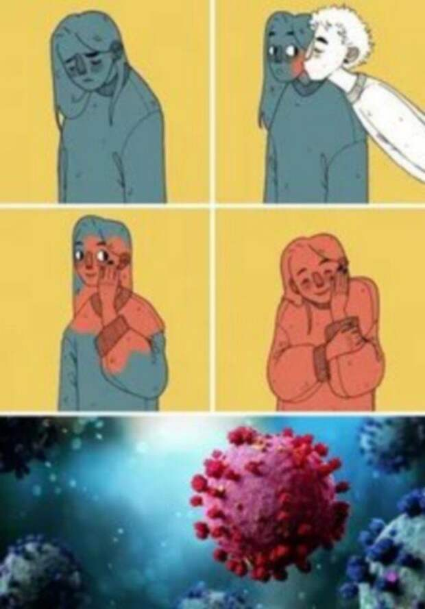 Приколы про коронавирус и вакцинацию