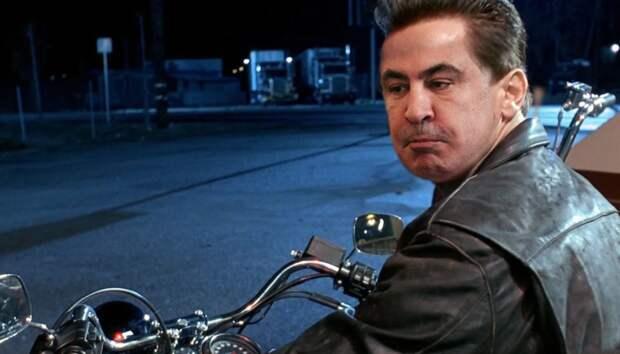 «Я вернусь»: хакеры взломали сайт президента Грузии и разместили фото Саакашвили
