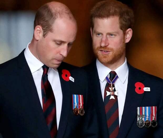 Принц Уильям назвал попытки Гарри скрыть рождение сына Арчи «манёвром примадонны»