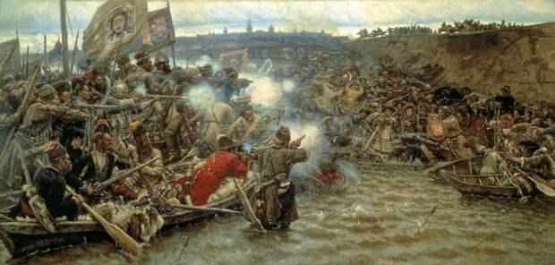 Как казаки Сибирь покоряли.