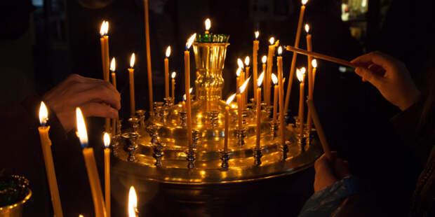 Первую пасхальную службу в Главном храме ВС России возглавил епископ Бронницкий