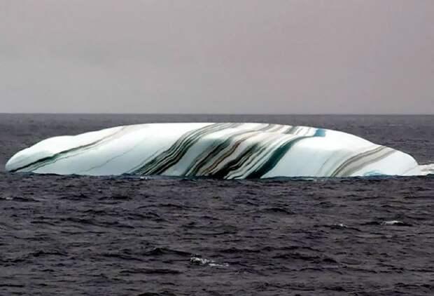 Айсберг, похожий на гигантскую карамель интересно, не еда, несъедобное, поразительно, странные сближенья, съедобное, удивительно, удивительное рядом