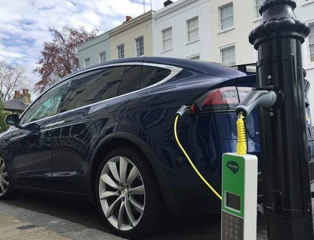 Зарядка электромобиль батарея РФ