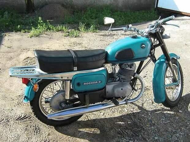 Мотоцикл Восход 2, который считался самым лучшим в серии