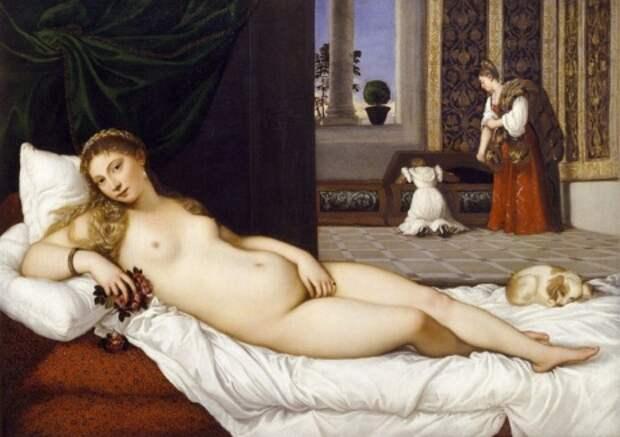 художник Тициан Вечеллио (Tiziano Vecellio) картины – 18