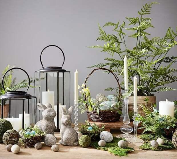 Декор и вазы в Пасхальном стиле (трафик)