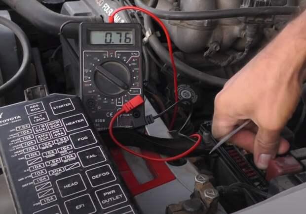 Простой способ найти утечку тока в автомобиле своими руками