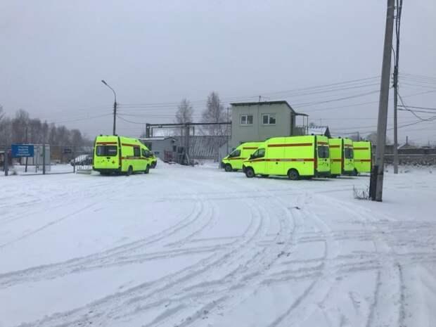 """Вот такие """"Скорые"""" теперь в Нижнем Новгороде"""