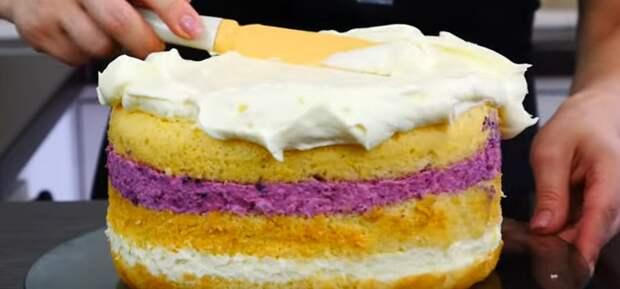 торт в духовке