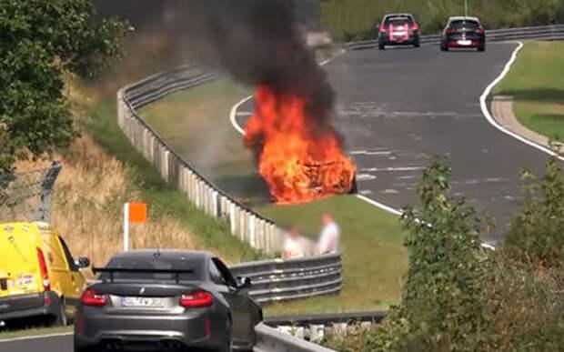 Самые зрелищные аварии Нюрбургринга: что скорость делает с автомобилями