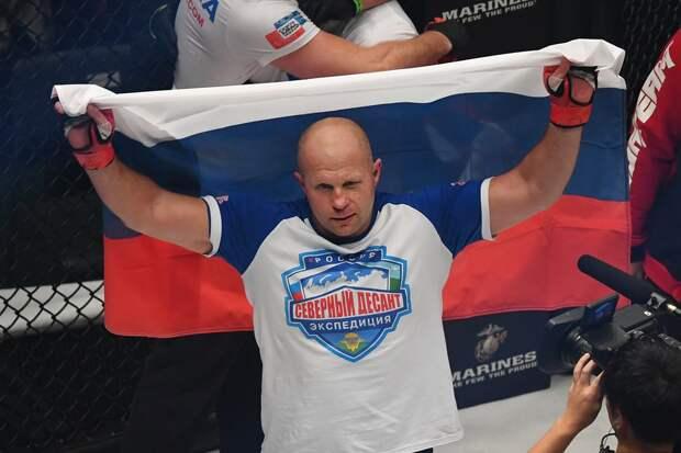 Ф. Емельяненко: «Ян — хороший боец. Но я не люблю, когда начинают больше говорить, чем доказывать на ринге»
