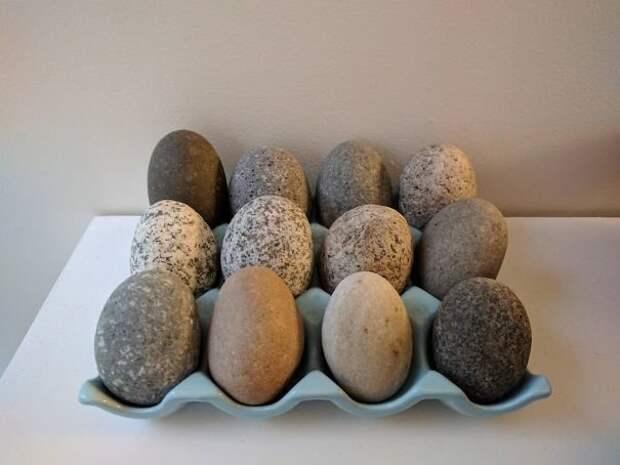 Каменные яйца интересно, не еда, несъедобное, поразительно, странные сближенья, съедобное, удивительно, удивительное рядом