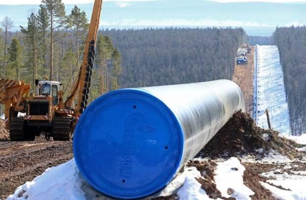 """""""Газпром"""" начинает строительство дальневосточного газопровода в КНР"""