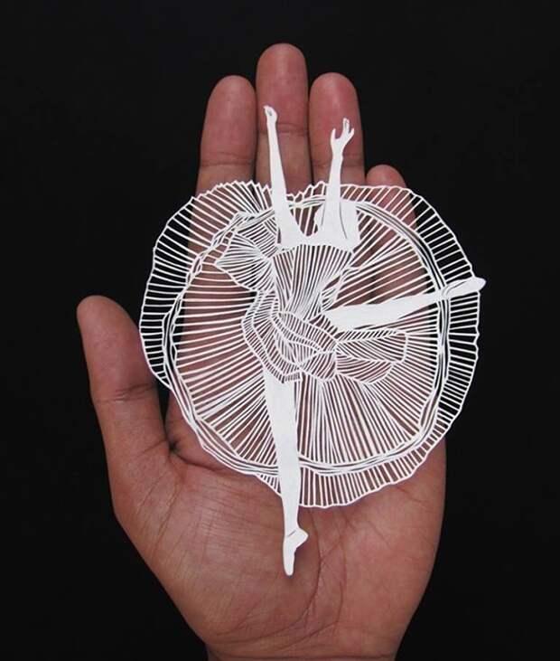 Искусство вырезания из бумаги. Волшебство! Художник Парт Котекар (Parth Kothekar) из Ахмедабада, Индия