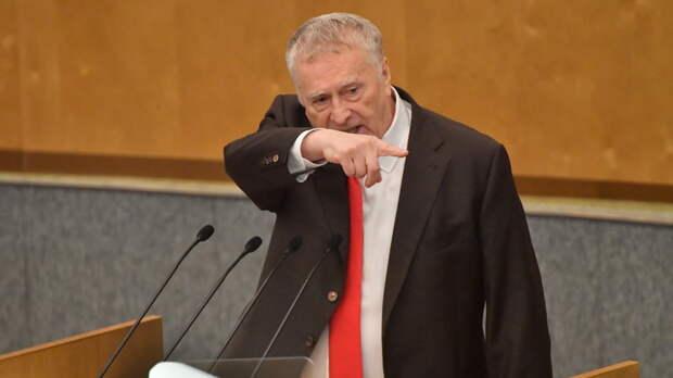 """""""Голкипер, да вы что? """": Жириновский поддержал отказ от англицизмов на ТВ"""