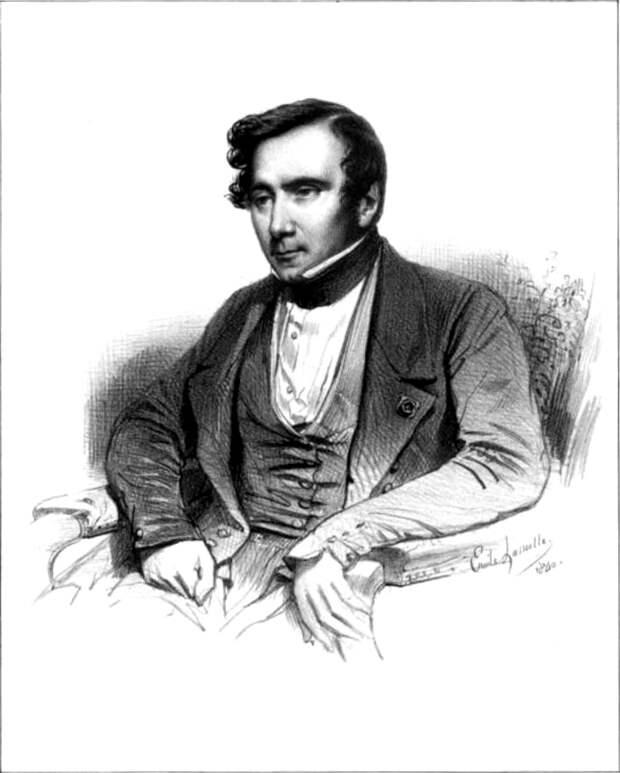О.Тьерри. Литография работы Э.Лассаля (1840), Лувр, Париж