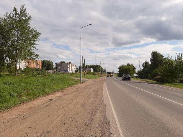 На въезде в Завьялово до улицы Калинина появится освещение