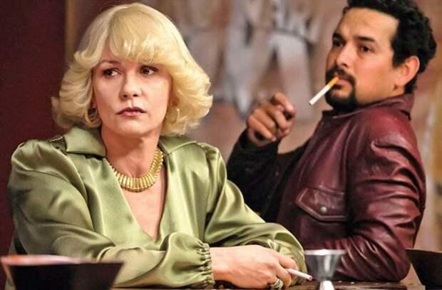 Кэтрин Зета-Джонс в фильме *Крестная мать кокаина*, 2017 | Фото: 7days.ru