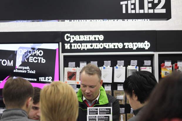 ФАС обвинила Tele2 в завышении тарифов