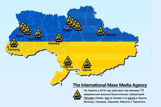 «Это другое»: биолаборатории Пентагона на Украине