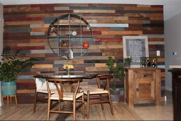 Немного эко-стиля не помешает в любом доме. /Фото: i.pinimg.com