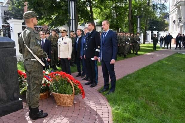 На Образцова провели мероприятие, посвящённое солидарности в борьбе с терроризмом