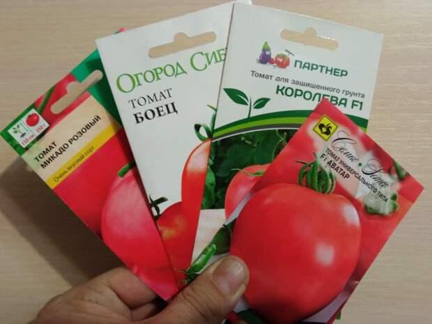 Какие томаты выбрать