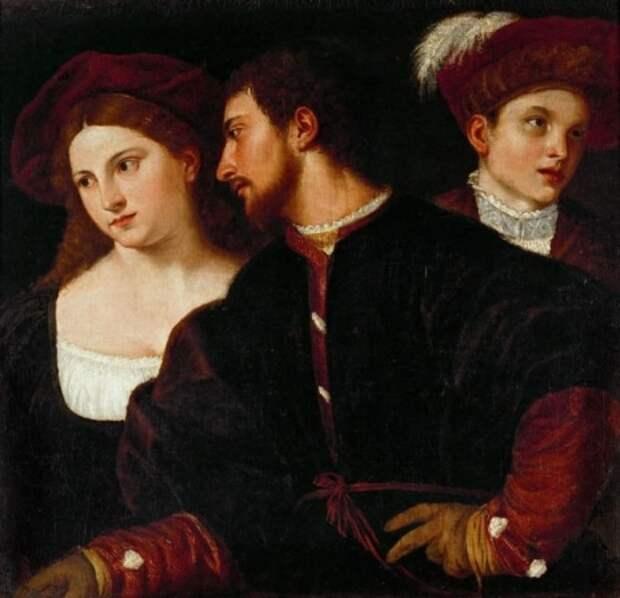художник Тициан Вечеллио (Tiziano Vecellio) картины – 02
