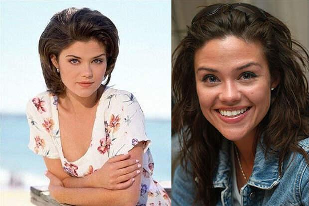 """Актеры сериала """"Любовь и тайны Сансет Бич"""" тогда и сейчас."""