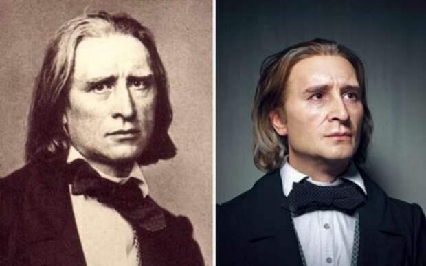 3-D изображения известных людей