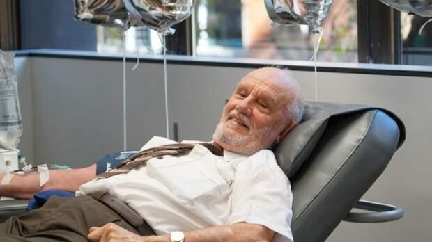 История этого мужчины, спасшего 2,4 миллиона человек, точно поможет вам вернуть веру в человечество в мире, добро, донор, забота, история, кровь, люди, помощь