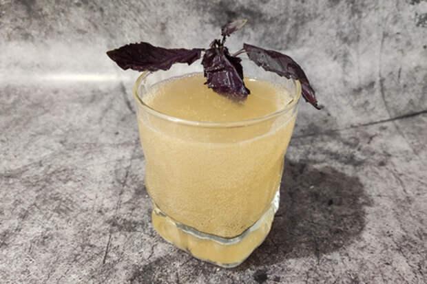 Грушевый лимонад дюшес