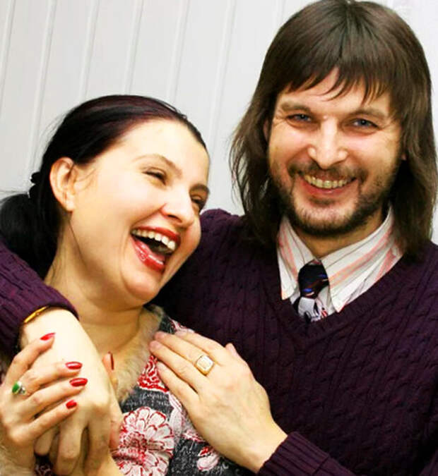 Светлана Владимирская и первый муж Сергей Тороп.