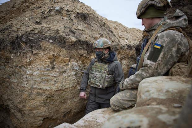 Зеленский заявил, что война в Донбассе сделала его более жёстким