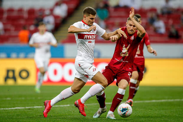 «Спартак» обыграл «Рубин» со счётом 2:1
