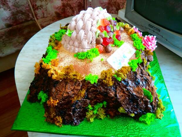 Волшебные торты от Оксаны Сабутиной.