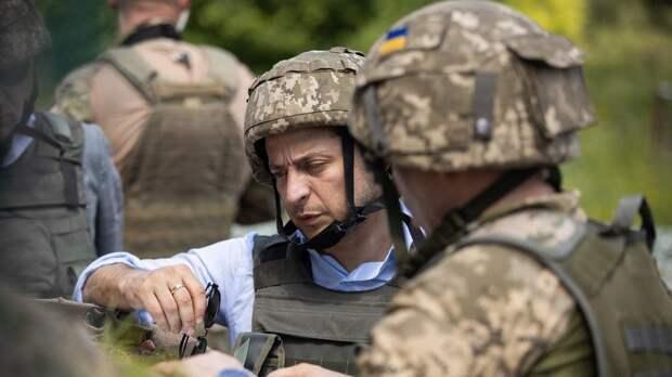 Зеленский впервые посетил Донбасс как президент Украины