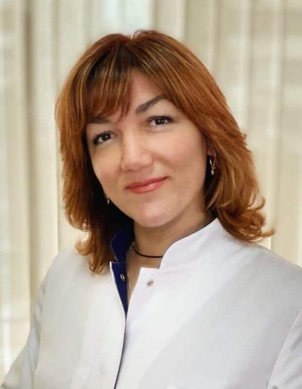 Эльмира Каширина/ предоставлено пресс-службой поликлиники