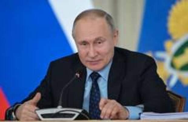 Путин предложил новые меры борьбы с коронавирусом
