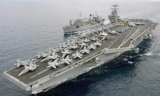 Вскрылось, почему в США хотят вывести из ВМС почти новый авианосец «Гарри Трумэн»