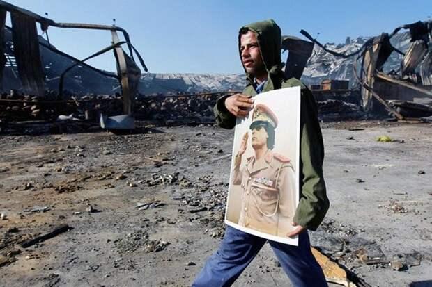 Под каким предлогом Запад убил Каддафи и разрушил Ливию