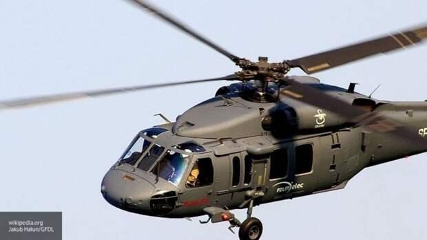 Военный вертолет США разбился в сирийской провинции Хасака