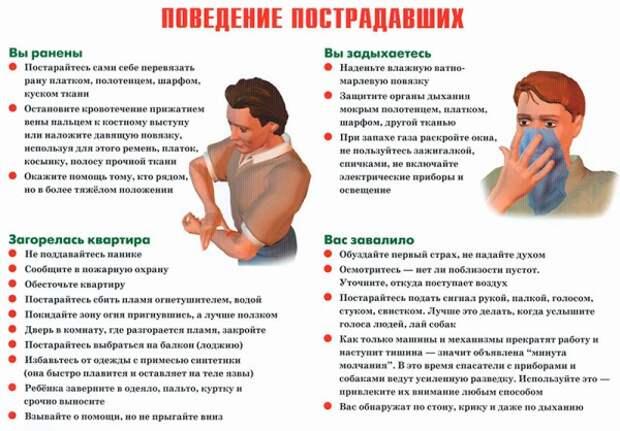 Москвичам рассказали о действиях после терракта