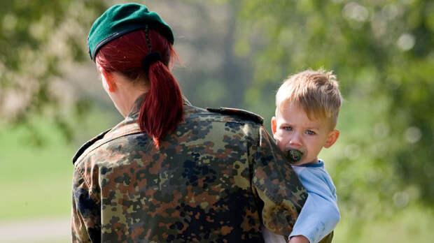В Вооружённых силах Германии вводят форму для беременных