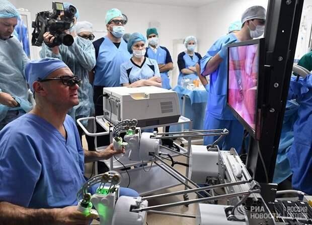 Российский робот-хирург провёл первую операцию